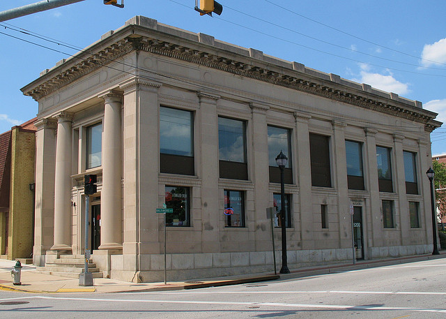 Photo of a historic building in downtown Hyattsville of the type that would qualify for tax credits by Flickr user Mr. T in DC: http://bit.ly/1fv6s89