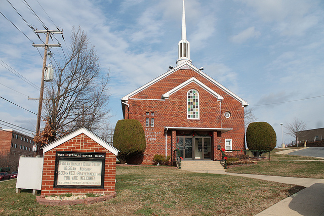 Photo of West Hyattsville Baptist Church by Flickr user Elvert Barnes http://bit.ly/1bAbYJZ