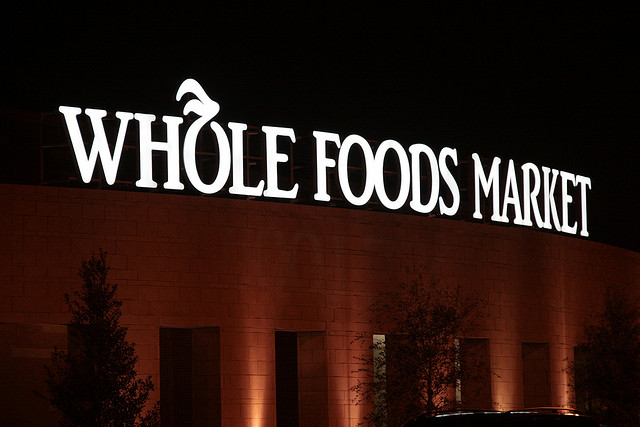 Photo of a Whole Foods Market by Flickr user Dave77459 http://bit.ly/1j8bkD1
